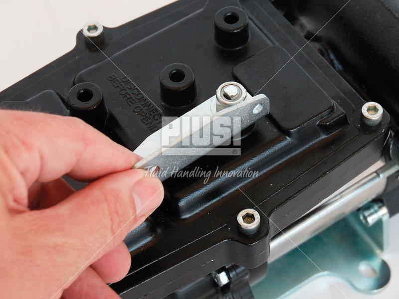 Gasoline Fuel Transfer Pump PIUSI EX50 (120V, 13 GPM